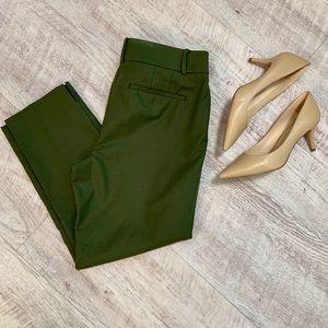 LOFT Julie Cropped Riviera Pants   EUC